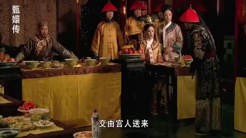 剪秋服毒失败被皇上质问