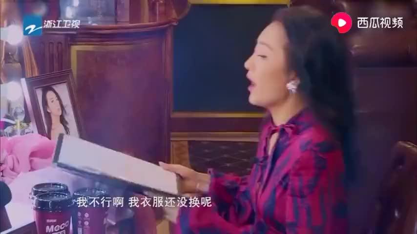王鸥遇导演要求用粤语报菜单许君聪竟敢模仿一张口惊到贾玲