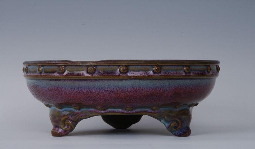 游青岛市博物馆,看北宋钧窑鼓式瓷洗!存世量稀少!