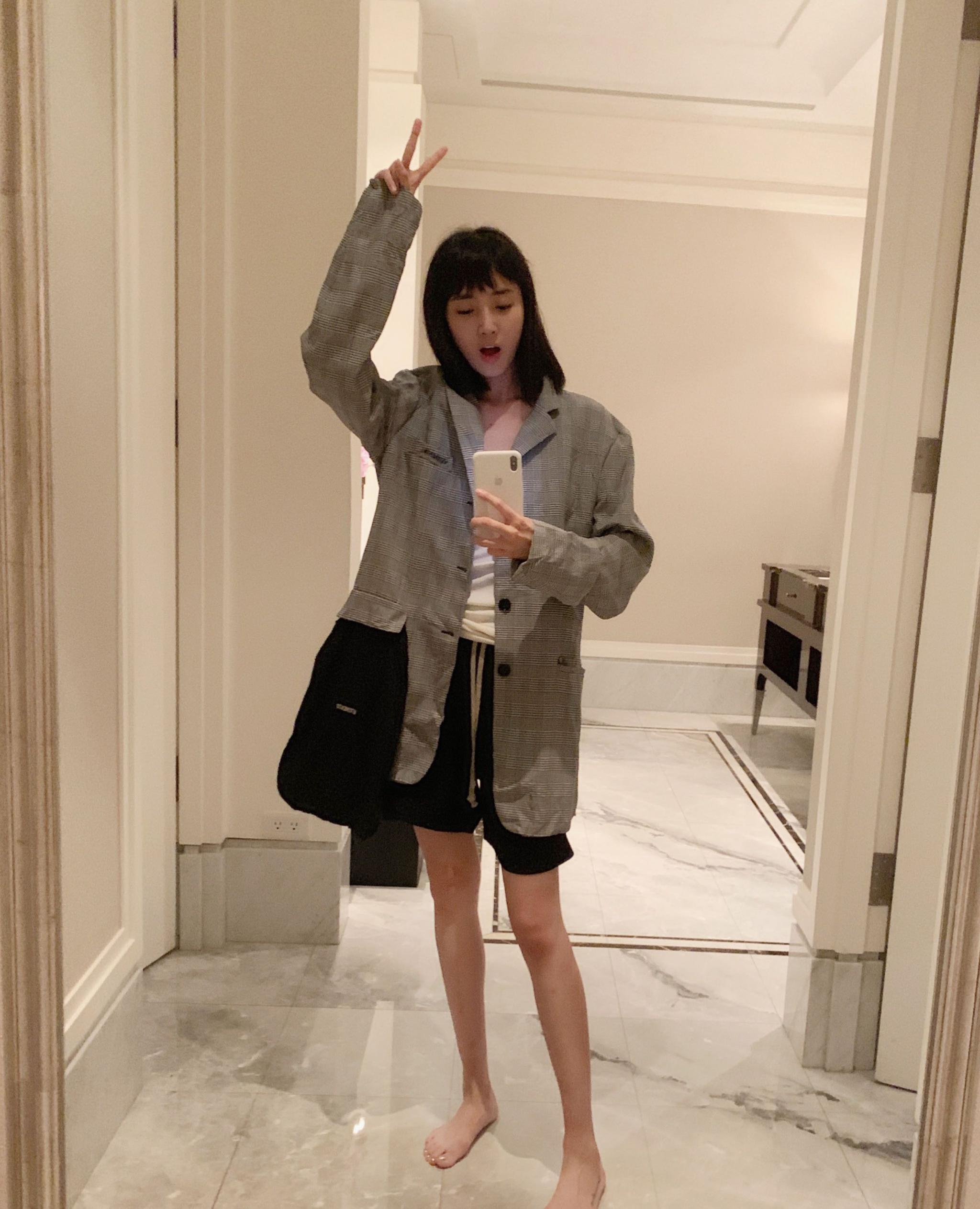 王紫璇时尚潮流街拍