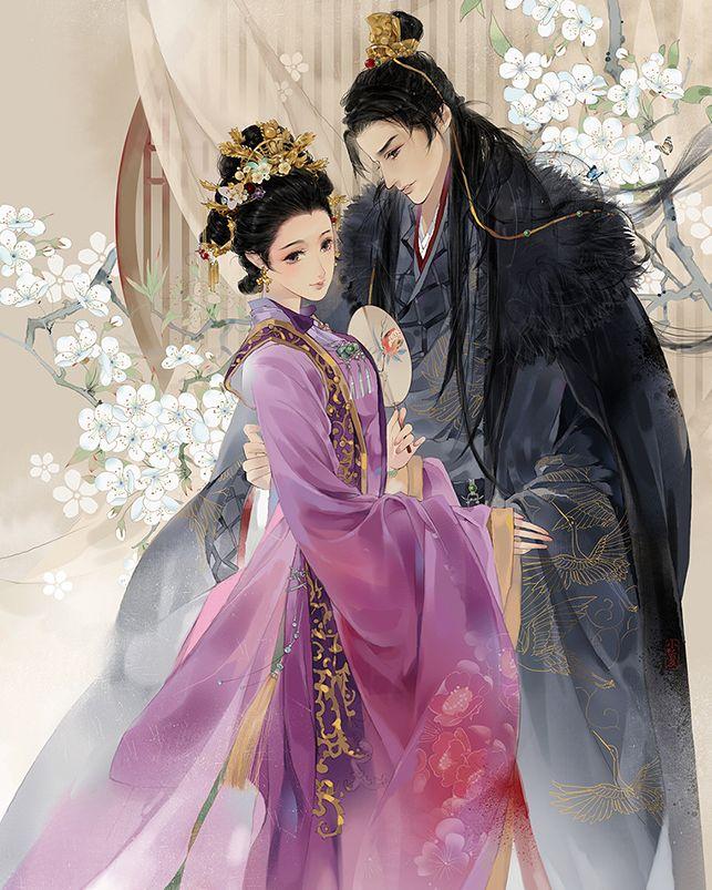 古风手绘绝代风华皇后壁纸:后宫佳丽三千人,三千宠爱在一身