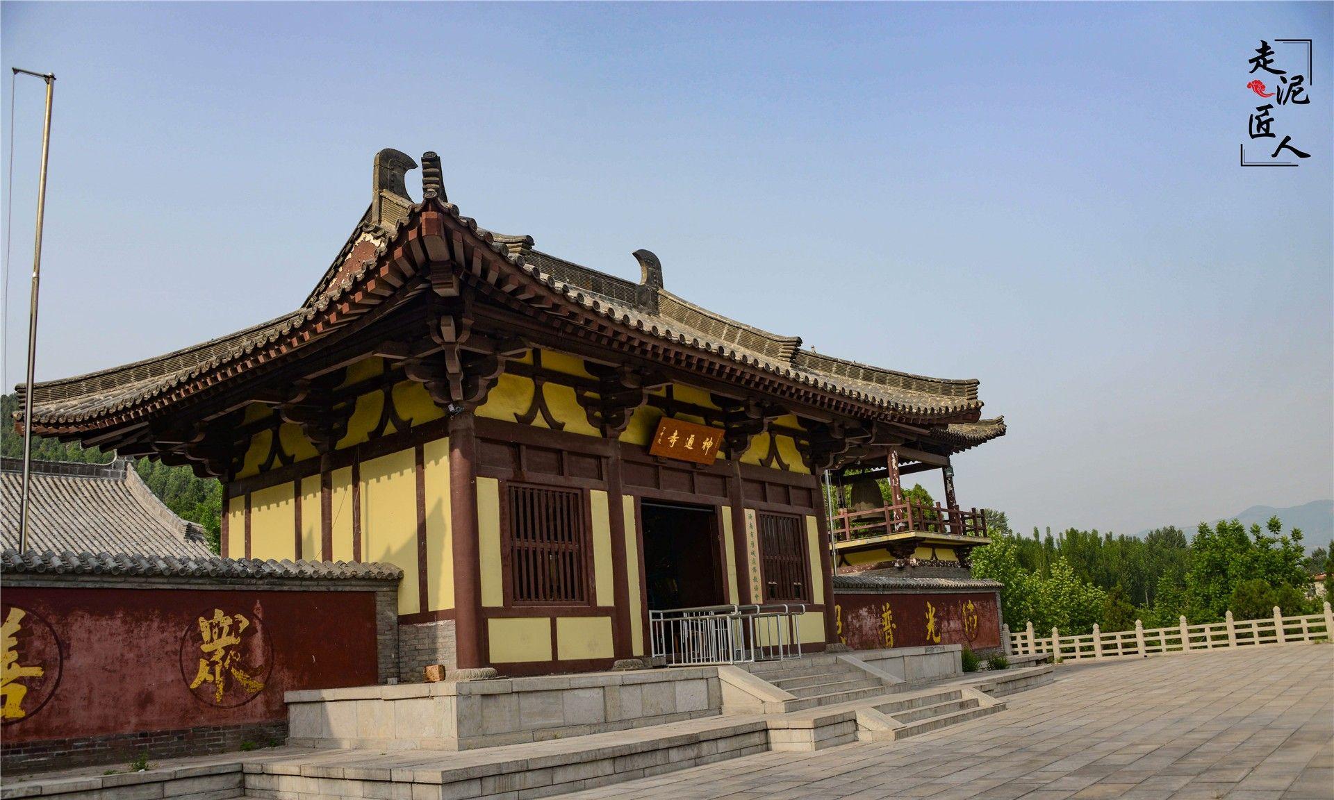 至今仍遗存的古塔旧碑、摩崖造像——神通寺