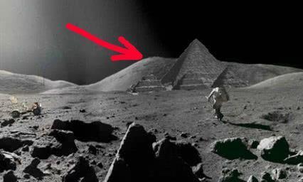 有人曾经在月球背面发现金字塔和飞机,网友:PS技术一般