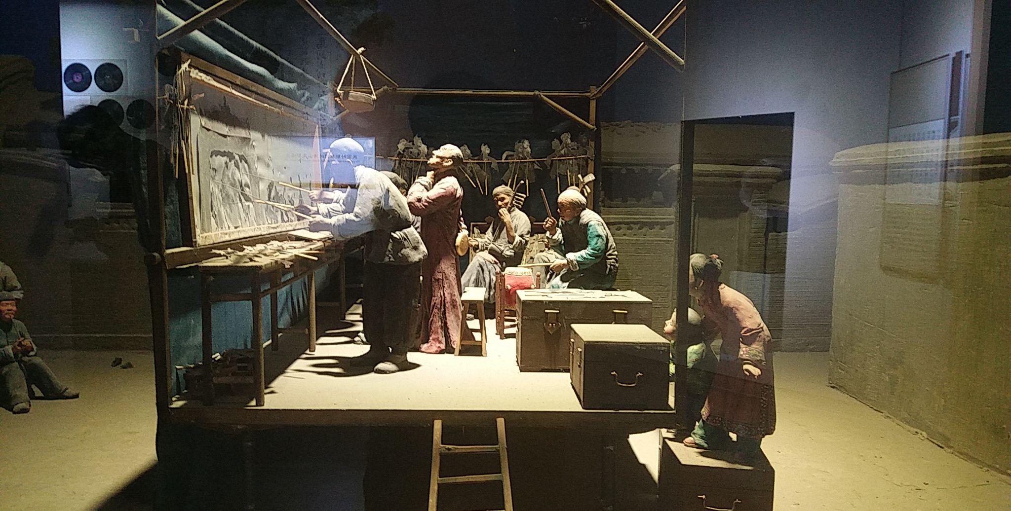 唐山博物馆之皮影文化欣赏