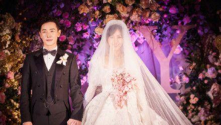 唐嫣主婚纱近照曝光,网友:这款式不是谁都能撑得起来的!