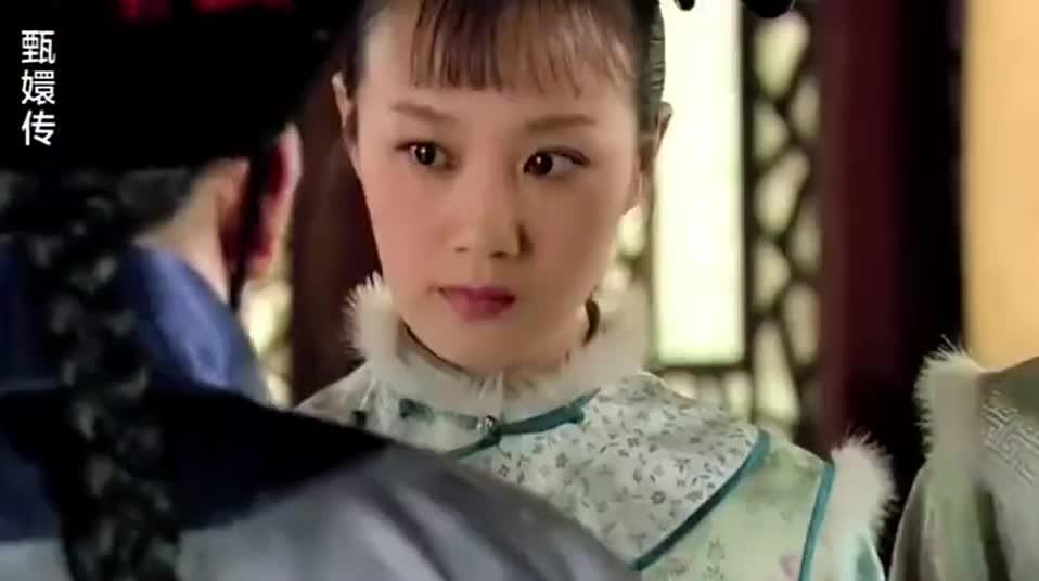 小太监奉承甄嬛,在场的女孩听见,都捂嘴偷笑