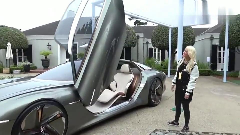 2035年的宾利?宾利EXP 100 GT 概念车,劳斯莱斯都不敢这么干