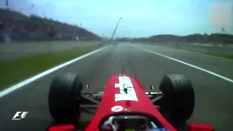 F1大奖赛的经典2000年西班牙站巴里切罗与舒马赫的对决经典呀