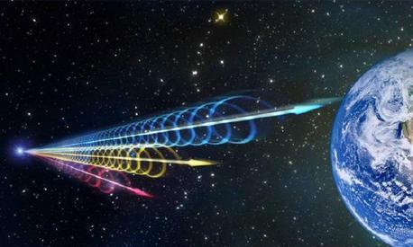科学家又一重大发现,宇宙最明亮的快速射电暴,绝美且震撼!