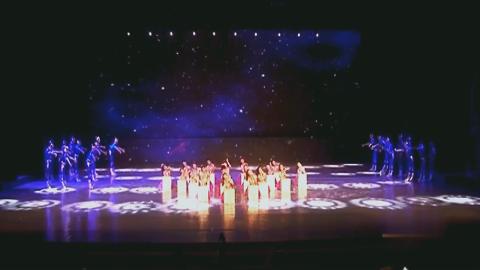 六一儿童节舞蹈,创意少儿舞蹈《与未来牵手》!