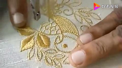 高手在民间看手工艺人如何用缝纫机踩出精美图案