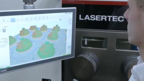 3D打印金属零件,这就是现代科技,未来将更加厉害