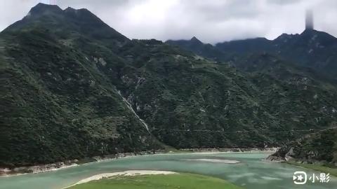 甘肃陇南文县这就是白龙江和白水江交汇的地方风景不错