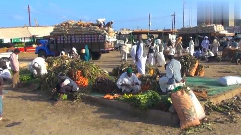 中国人去不丹旅游,实拍不丹的农贸市场