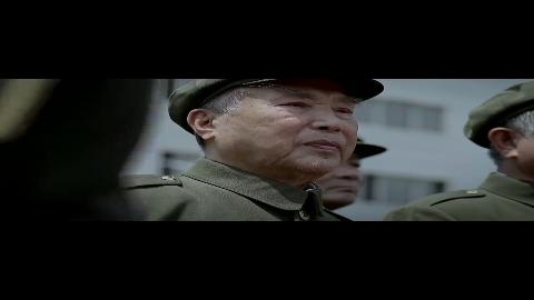 三八线大结局中国人民志愿军烈士英灵回国老战士列队敬礼