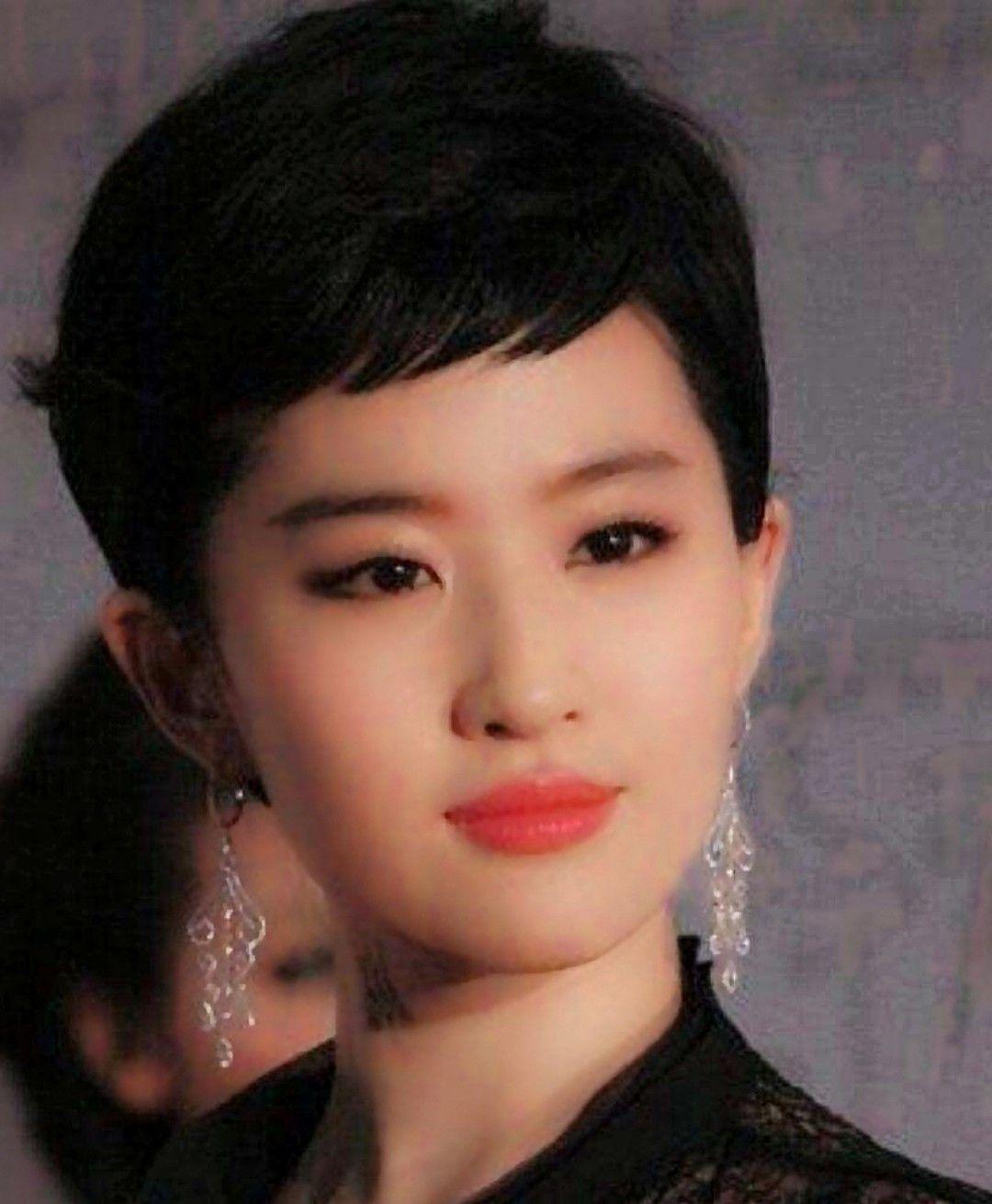 8款发型,赵丽颖,周养眼,热巴都很美!但最发型的我改变想冬雨图片