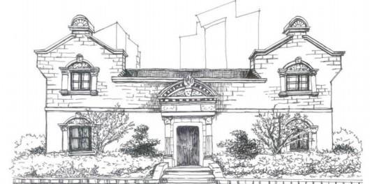 七旬女建筑师手绘上海石库门,有杜公馆,也有老虎窗