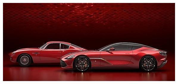 阿斯顿马丁绝美跑车DBS GT Zagato最终定装照发布