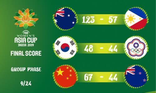 两战狂胜104分!女篮亚洲杯最大敌太恐怖,日本四连冠已梦碎?