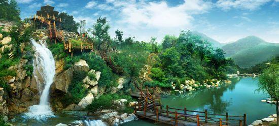 九如山瀑布群,人与大自然和谐相处的典范之作