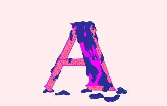国外设计师创作的创意字母和数字设计作品欣赏
