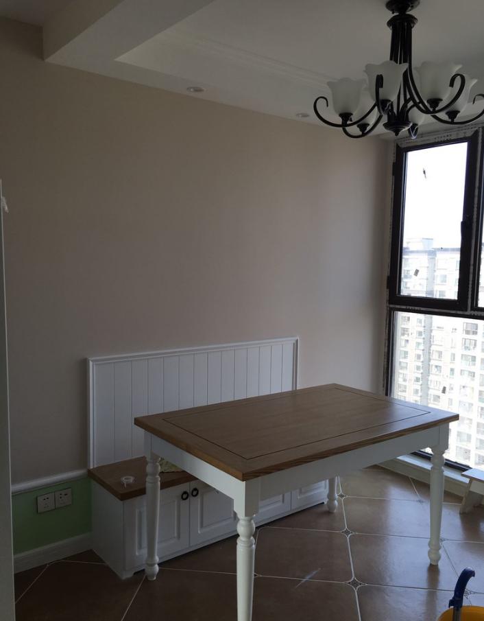 南京艾菲国际116平三居室美式装修设计,色彩搭配的效果
