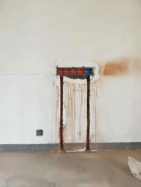 南京装修工地,水电胡师傅的半成品