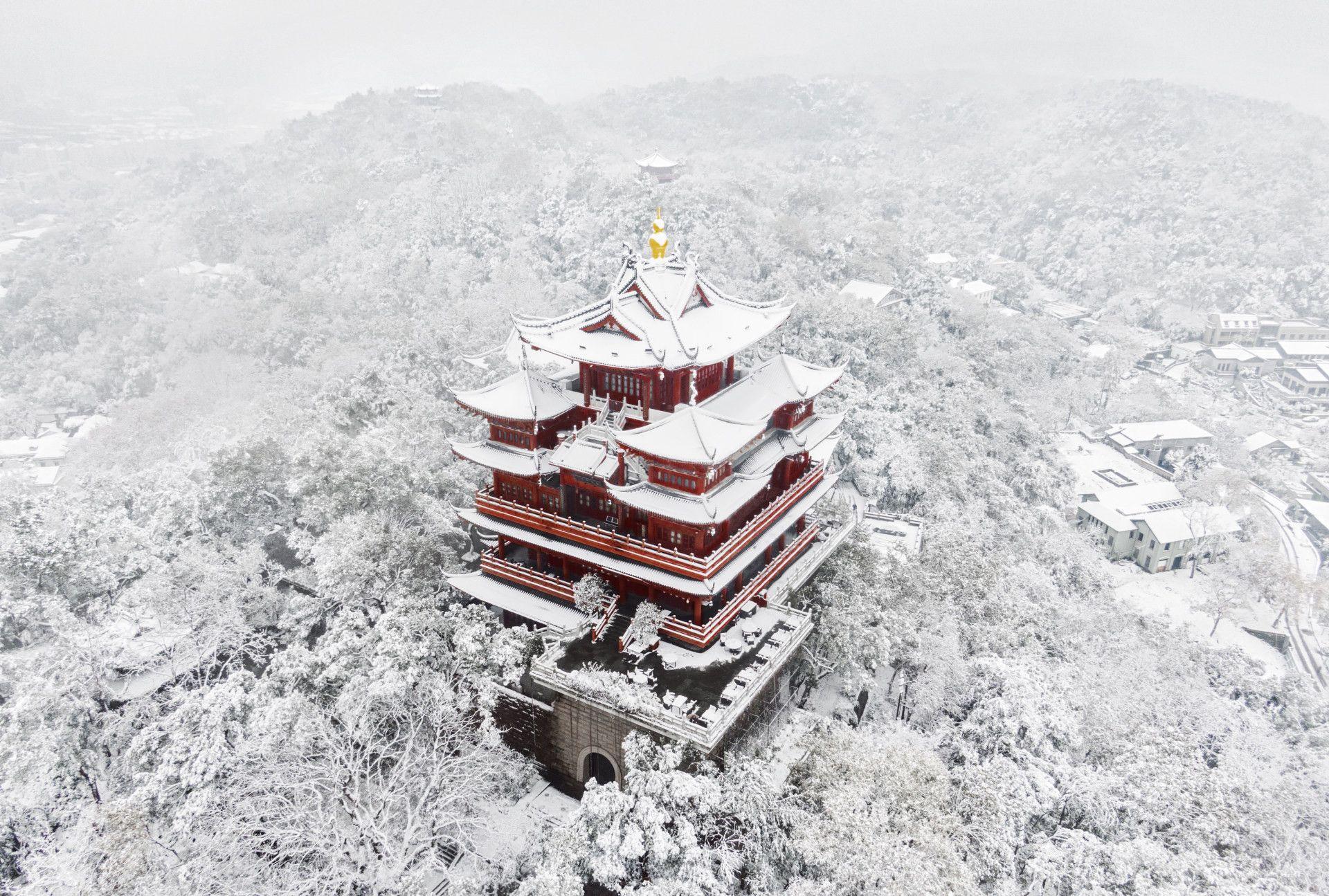 今冬南方的雪景美到爆,虽带给人们寒冷,但却为大地铺上一片洁白