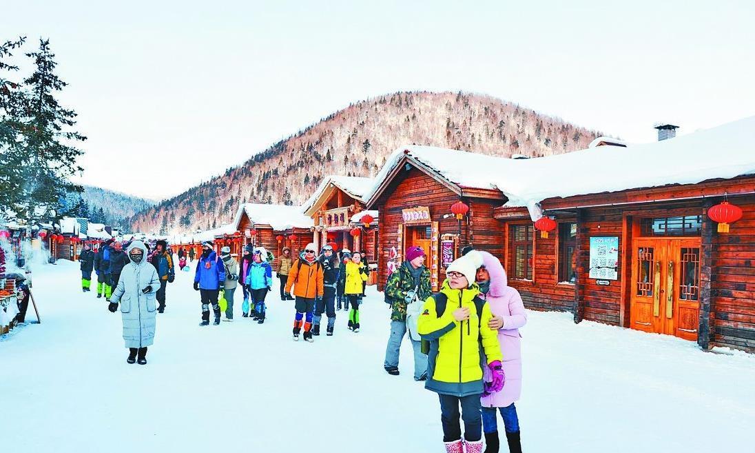大数据:雪乡游客中最多的是广东人!看来南方人对雪情有独钟!