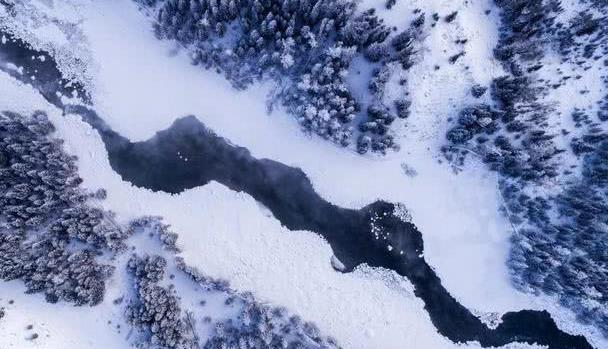 一场纯净之旅——新疆的冬天