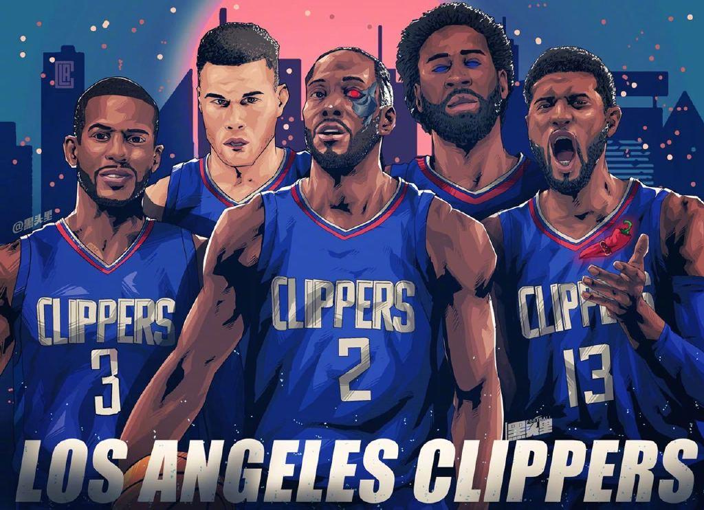 NBA队史最佳阵容之快船队出炉!没有标志性人物,保罗算是领衔吧