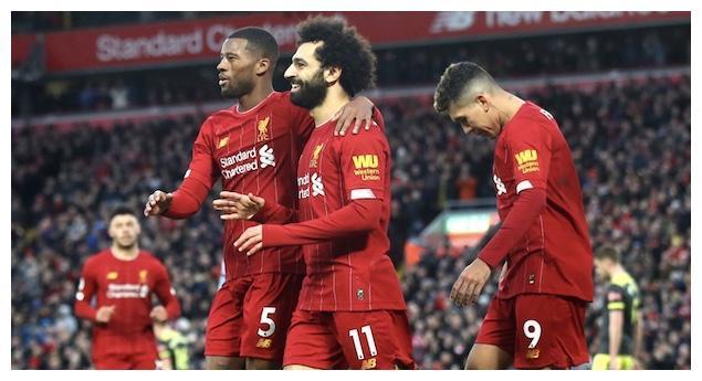 英超最新积分榜:利物浦16连胜22分领跑,曼联战平狼队3轮不胜
