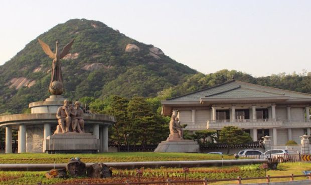 """各国总统的居住""""宫殿""""之一,韩国青瓦台,""""清爽""""!"""
