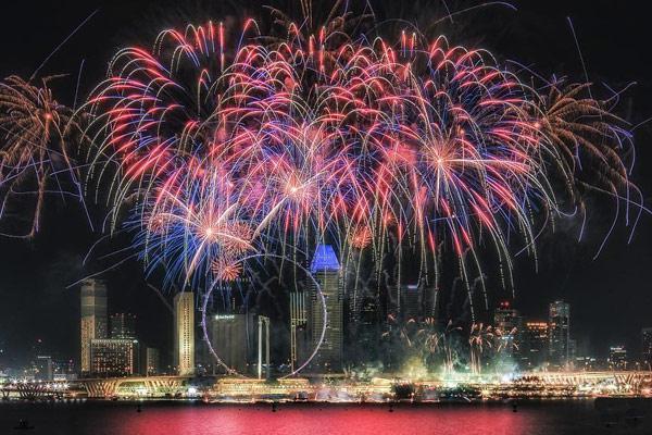 新加坡迎2020跨年烟火将在滨海湾举行!图片
