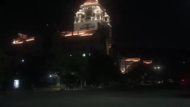 夜游号称中国最美大学之一的厦大