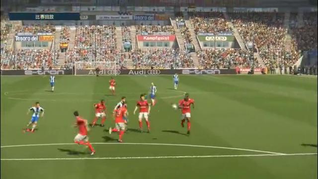 实况足球:西班牙人5:1斯塔尔南,武磊帽子戏法奠定主力位置!
