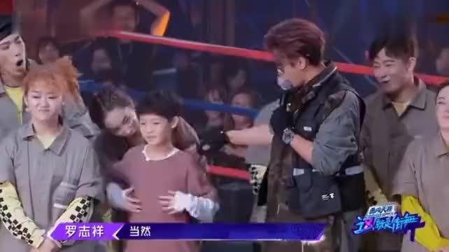 这就是街舞罗志祥和韩庚鼻头对鼻头对决要不要这么狠太害羞