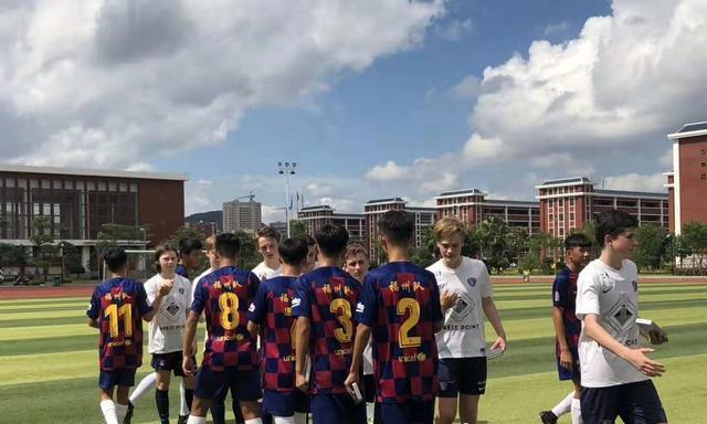 福州市国际友好城市青少年校园足球赛开幕