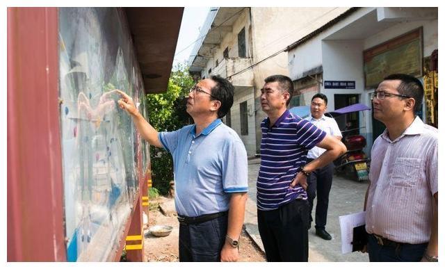 吴伟生湖南衡阳衡东县大浦督查指导灾后重建和脱贫攻坚工作