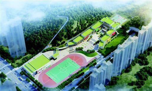 面积大,颜值高,宜昌城区岳湾路小学建成
