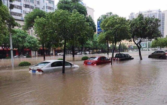 汽车怎么过积水路段?学会这几点,发动机进不了水