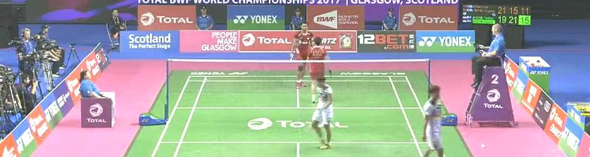 愤怒!羽毛球世锦赛,印尼金牌组合竟公然挑衅王懿律黄东萍