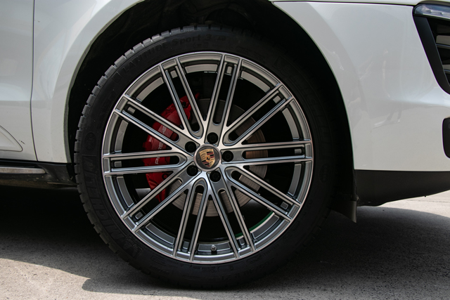 保时捷macan升级改装718款21寸锻造轮毂