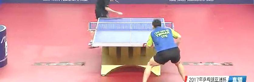 亚洲杯男单半决赛!看林高远如何在7:10落后时,完成超级翻盘