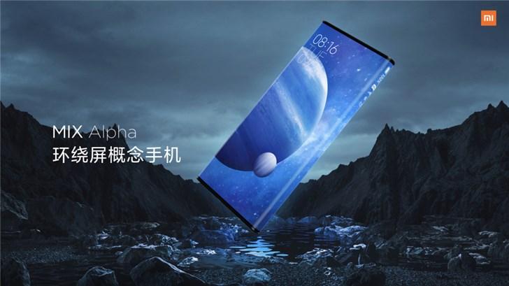 小米环绕屏手机多少钱什么时候预售 小米MIXAlpha美图欣赏