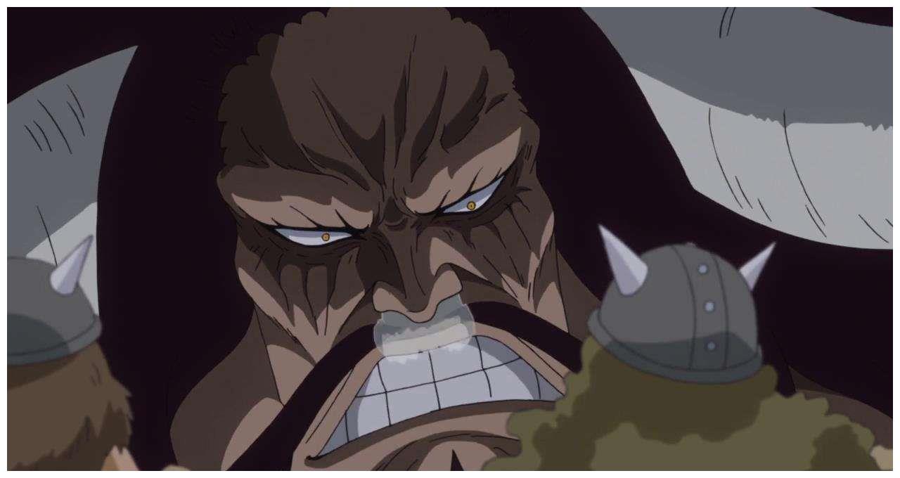 海贼王972话:仅1小时,凯多的伤势完全恢复,不愧是最强生物!