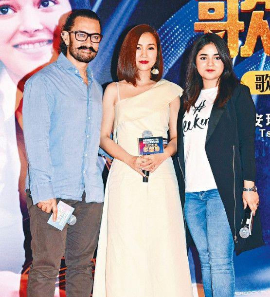 印度刘德华之称的巨星阿米尔汗香港宣传电影,阿米尔汗频频耍宝
