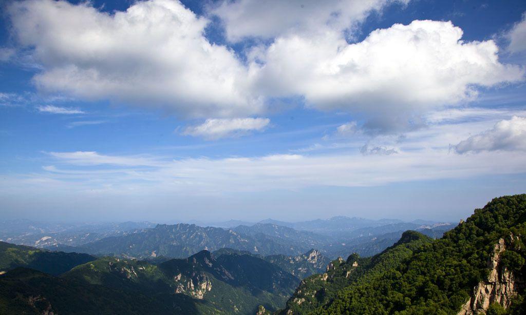 会当凌绝顶,一览众山小,雄奇险峻的五岳寨