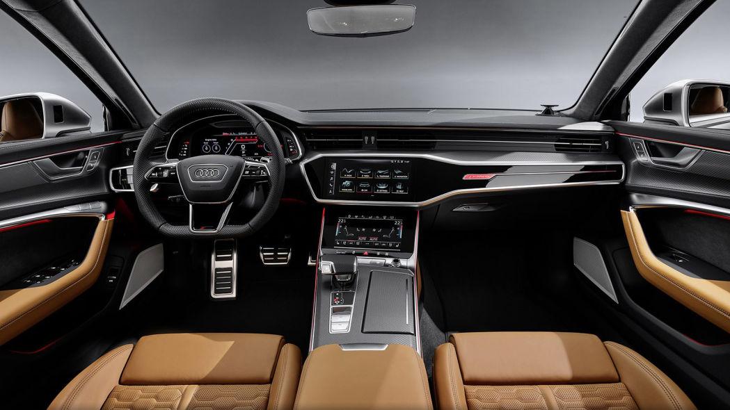 2020款奥迪RS6来了,哎,有钱真好~