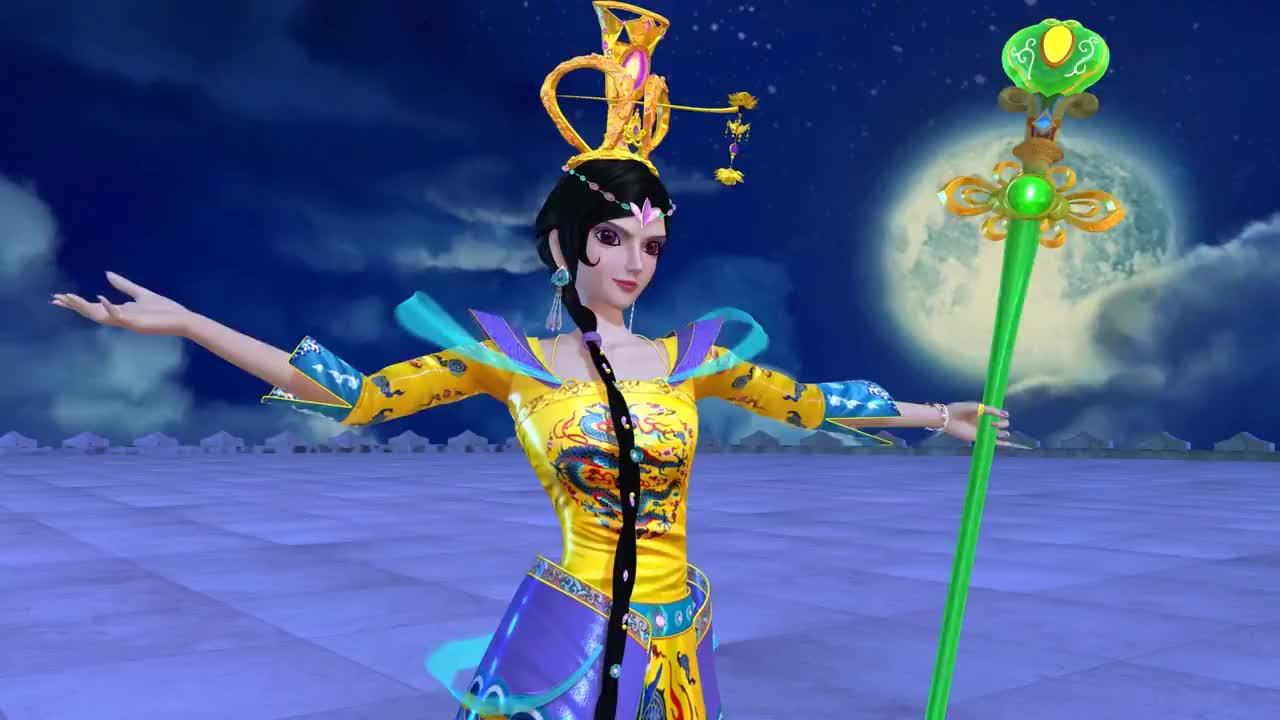 精灵梦叶罗丽女王到来菲灵和齐娜不放弃与女王交手